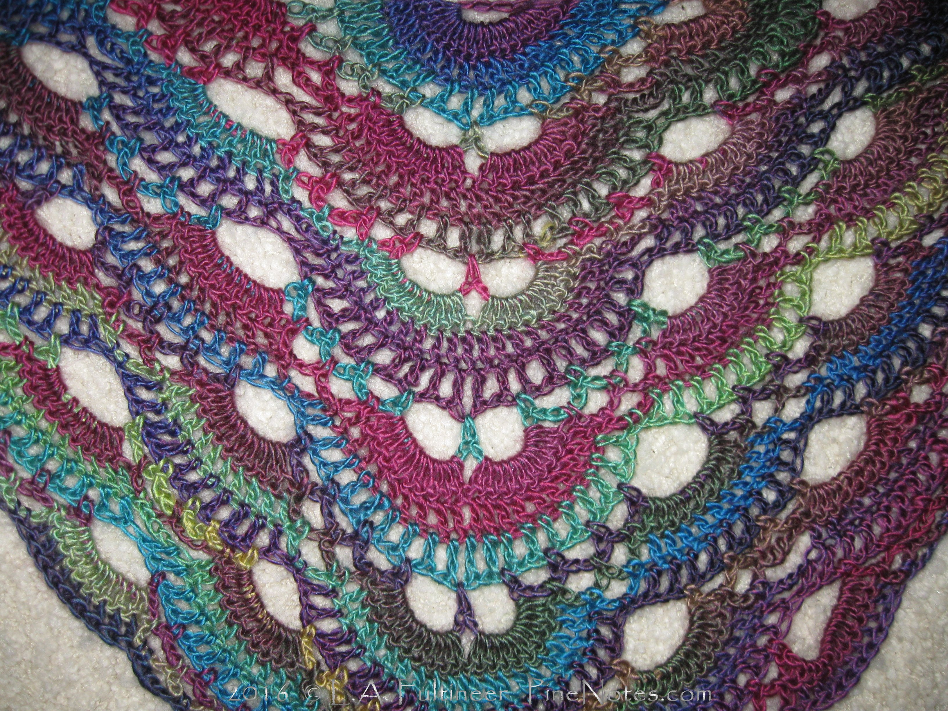 Shawl How To